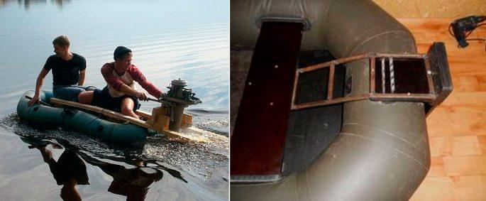 Как сделать транец на лодку пвх — viberilodku